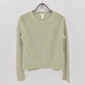 H&M Light Green Sweater - Women's size S